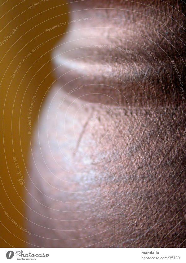 Regalfuß Holz braun glänzend rund Makroaufnahme Nahaufnahme Fuß Detailaufnahme