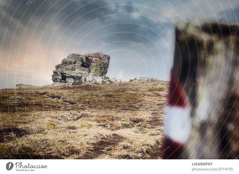 Wandern in Kärnten. wandern Österreich Berge u. Gebirge Außenaufnahme Menschenleer Natur Landschaft Ferien & Urlaub & Reisen Alpen Tourismus Erholung Ausflug