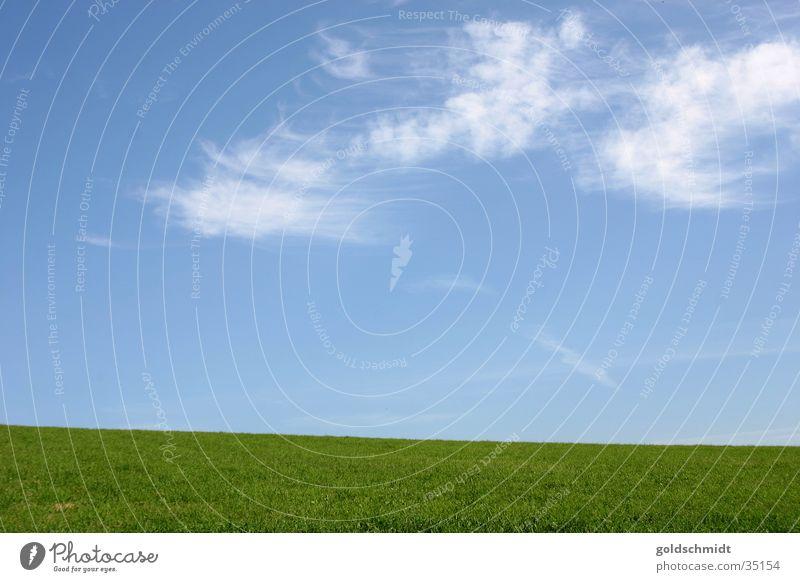 Weite Himmel grün blau Wolken Wiese Gras Berge u. Gebirge Hintergrundbild Rasen einfach graphisch flach Schwarzwald
