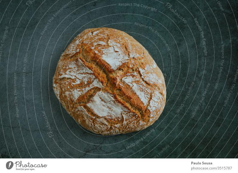Hausgemachtes Brot selbstgemacht Essen zubereiten Lebensmittel Ernährung Farbfoto Backwaren lecker Frühstück Teigwaren frisch Gesundheit Nahaufnahme Bioprodukte