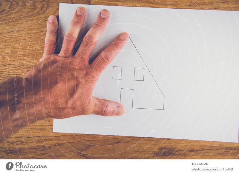 Architektur zeichnung planung Haus Hausbau planen Immobilienmarkt immobilien immobilien makler Kreativität kreativ Kredit Geld Besitz Mieter Vermieter Zettel