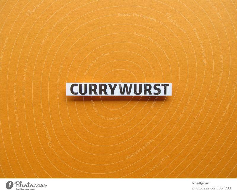 CURRYWURST Lebensmittel Fleisch Wurstwaren Currywurst Ernährung Fastfood Essen Duft heiß lecker orange Gefühle Appetit & Hunger Völlerei gefräßig Kult Snack