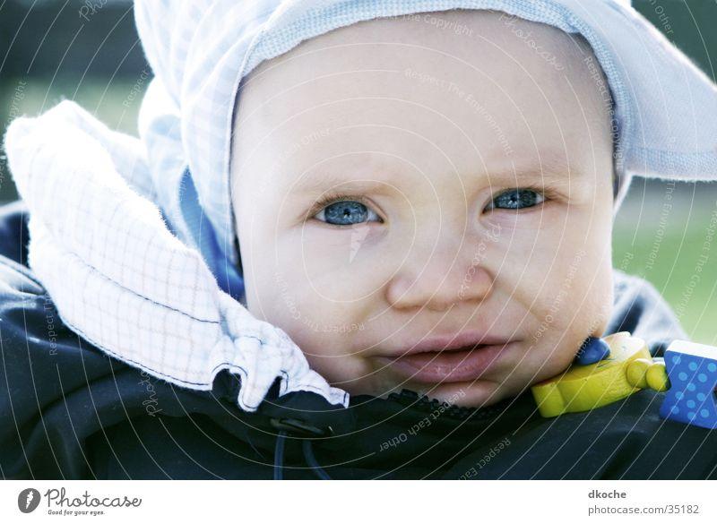 Mick Baby Porträt Mann 8 Monate Junge Gesicht