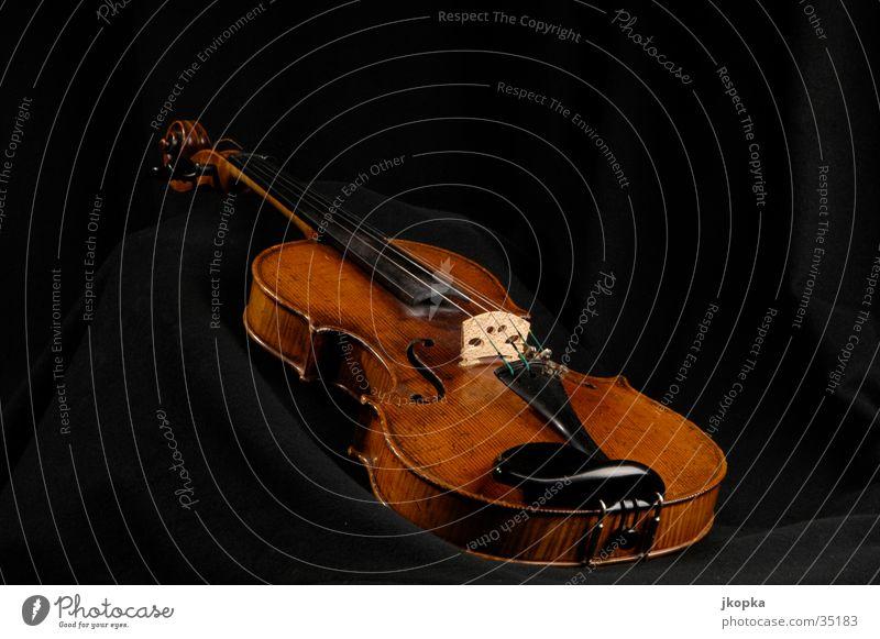 Geige elegant Stil Veranstaltung Musik Künstler Kultur Konzert Musiker Orchester Spielen braun schwarz Klassik Musikinstrument Farbfoto Innenaufnahme