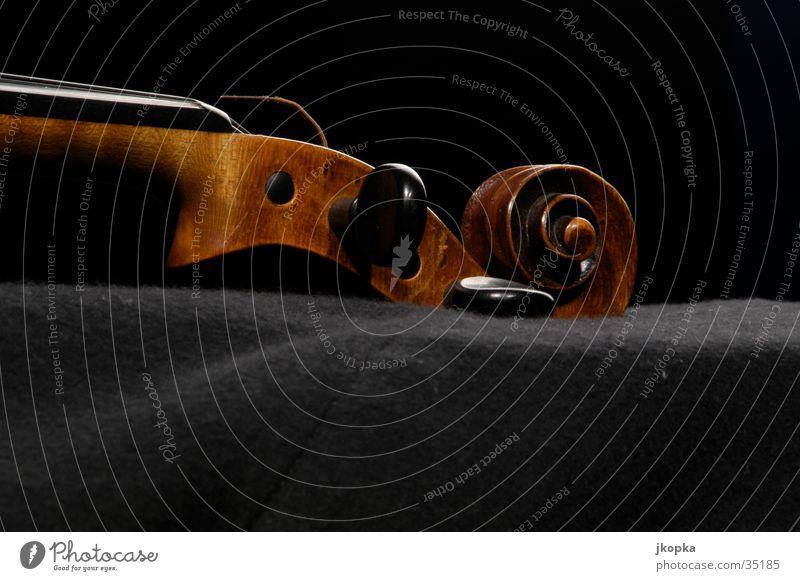 Geige Detail 1 Musik Konzert Musikinstrument Geige Klassik