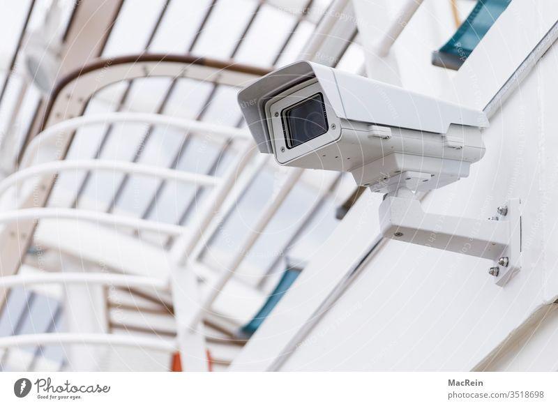 Kameraüberwachung kamera aufzeichnung beobachten beobachtung überblick überwachen rundblick niemand textfreiraum aussenaufnahme