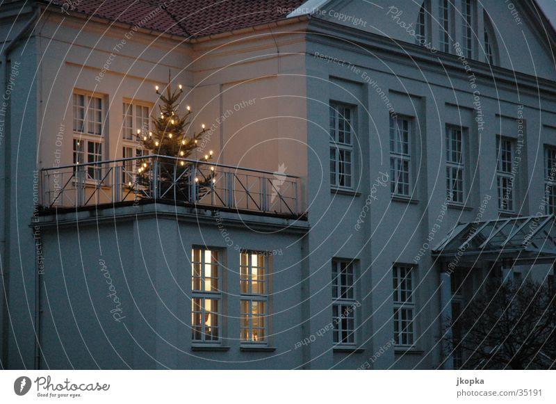 oh tannenbaum Weihnachten & Advent Lampe Gebäude Tanne obskur Licht Lichterkette