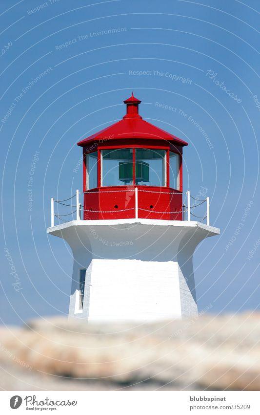 Peggy's Cove Lighthouse Leuchtturm Kanada Ostküste Architektur Sonne Himmel Nova Scotia