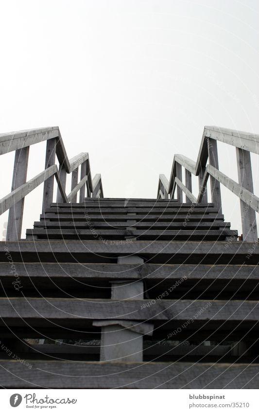 Stairway to Heaven Holz Brücke Treppe Mount Washington DC Himmel Geländer
