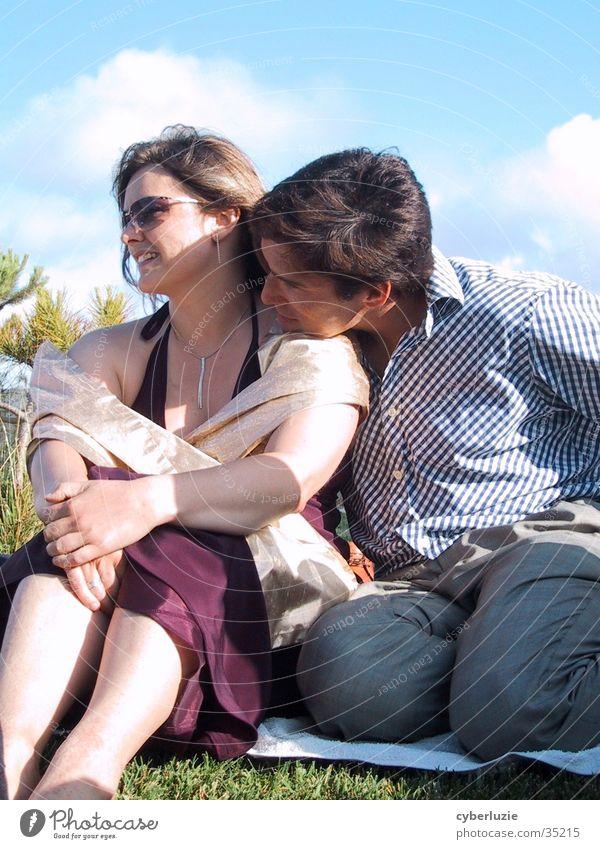 all you need is love Frau Mann Liebe Paar berühren Intimität
