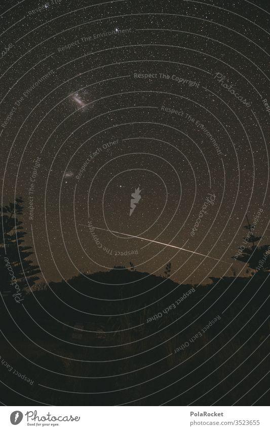 #As# Nachtpunkte Kosmos Weltraum Langzeitbelichtung Stern Sternenhimmel Sternbild Sternenhaufen Milchstrasse Himmel Außenaufnahme Nachthimmel Astronomie sterne