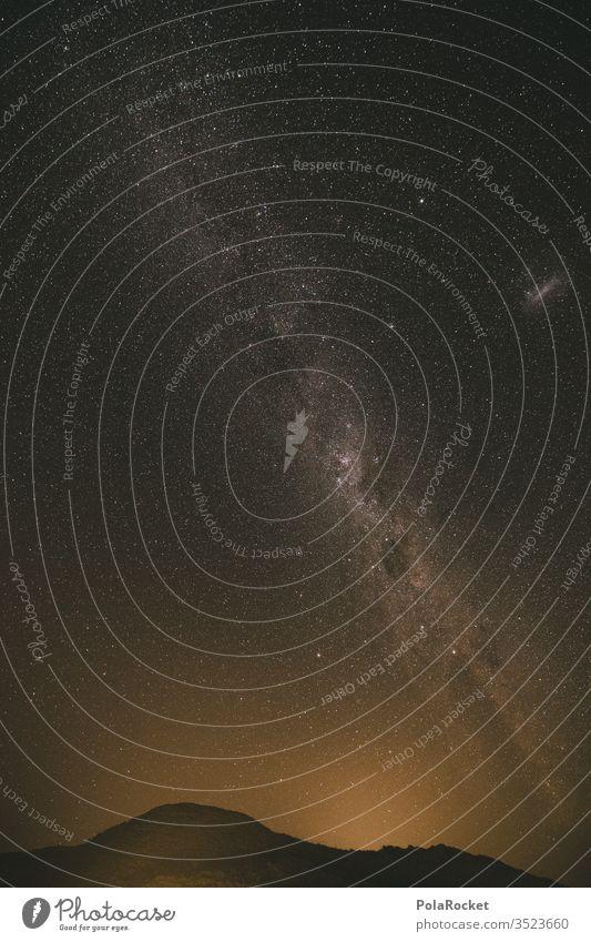 #As# Strange Night Stern Sternenhimmel sternenklar Sternenhaufen Sternenzelt Milchstrasse Langzeitbelichtung Nacht Außenaufnahme Farbfoto Himmel Nachthimmel