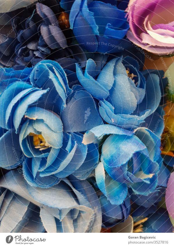 Schöner mehrfarbiger Kunstblumen-Hintergrund abstrakt Ordnung künstlich schön Schönheit Blütezeit Überstrahlung Blumenstrauß Haufen Farbe farbenfroh Dekor