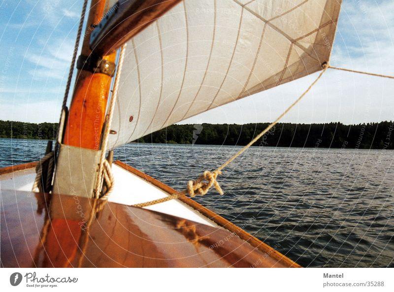 Mini  Becks Wasser See Wasserfahrzeug Wind Segeln Schifffahrt Kreis Soest Möhnesee