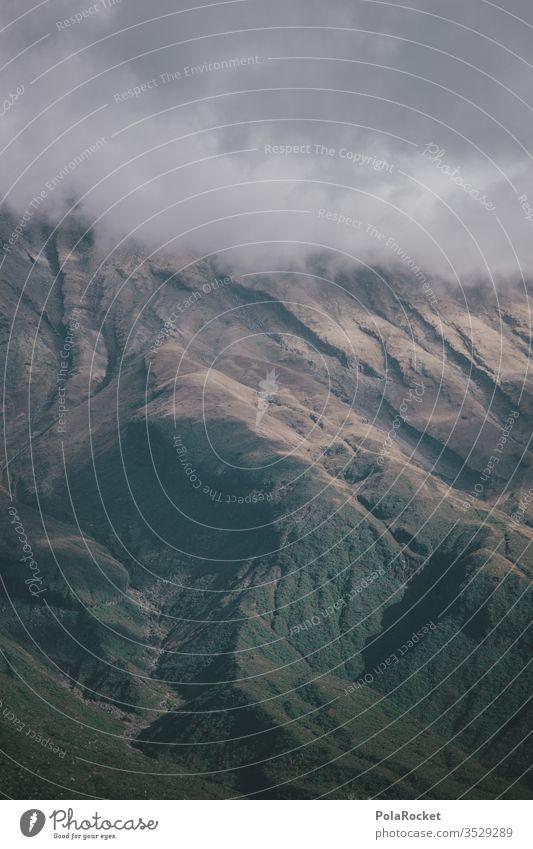 #As# Big Guy taranaki mount taranaki Neuseeland Neuseeland Landschaft Wolken Berge u. Gebirge Gipfel hoch Felsen gewaltig groß Außenaufnahme Natur Farbfoto