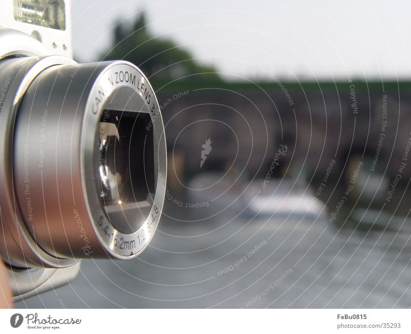 Kamera Entertainment Fotokamera Cam Digitalfotografie Detailaufnahme Objektiv