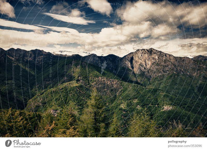 diverse nature 4 Himmel Natur Sommer Pflanze Baum Einsamkeit Landschaft Erholung Wolken Wald Umwelt Wiese Berge u. Gebirge Gras Freiheit Felsen