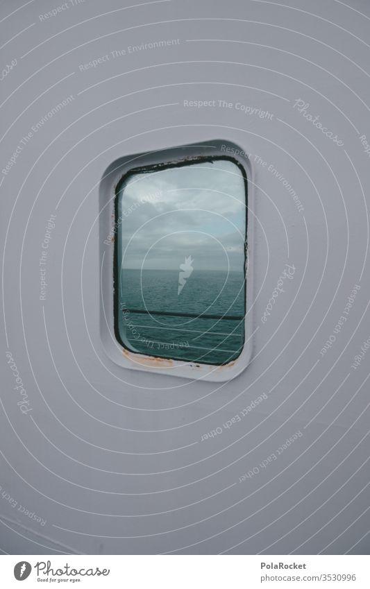 #As# Komms'e rein, kannst'e rausschauen Fenster Fensterscheibe Fensterblick Schifffahrt Fähre Schiffsdeck Spiegelung Reisefotografie reisen