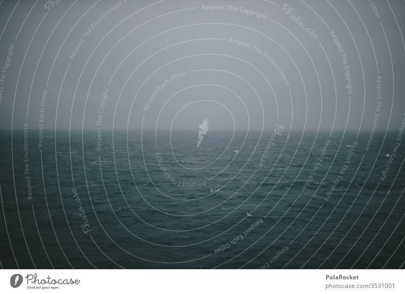 #AS# Hoffnungslos Einfachheit Freiheit ästhetisch Nebel blau Wasser leer Schifffahrt weite Verzweiflung Wellen zuversicht hoffung ocean Meer Hoffnungslosigkeit