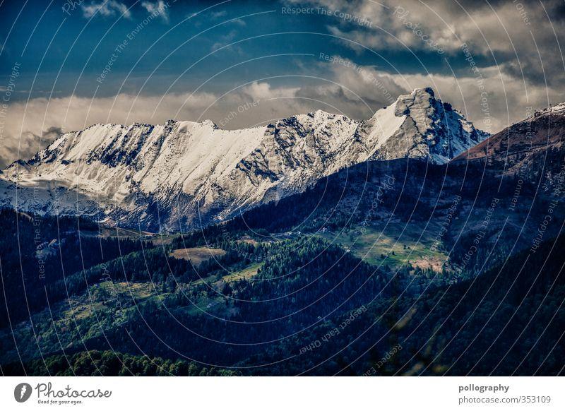 diverse nature 6 Umwelt Natur Landschaft Pflanze Himmel Wolken Sommer Schönes Wetter Schnee Baum Wiese Wald Hügel Felsen Alpen Berge u. Gebirge Gipfel
