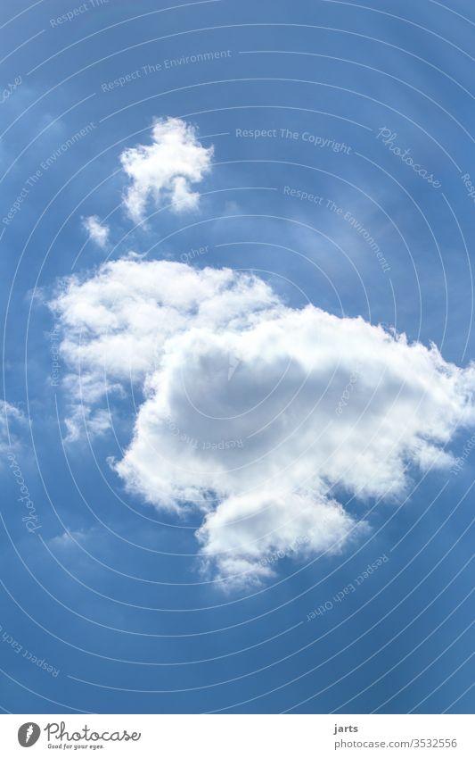 wolke Wolken Himmel Blauer Himmel Natur Sonne Außenaufnahme blau weiß Schönes Wetter Menschenleer Farbfoto Tag Luft frisch