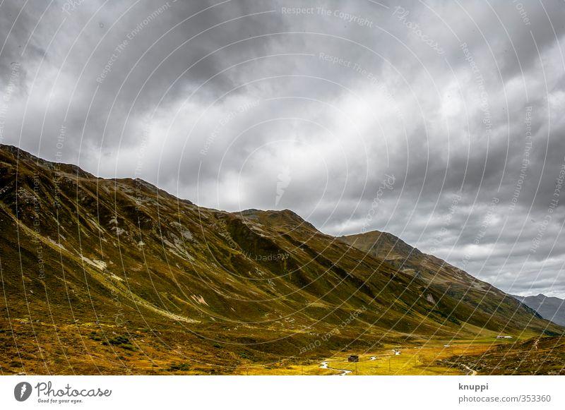 Unwetter II Himmel Natur Wasser Sommer Sonne Landschaft Wolken Umwelt gelb Berge u. Gebirge Wärme Herbst grau Luft Regen wild