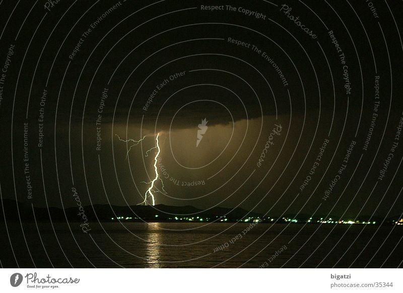 Sommerblitz Blitze Langzeitbelichtung Meeresblitz
