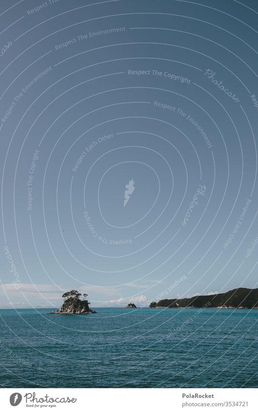 #As# paradiesisch Neuseeland Neuseeland Landschaft Abel Tasman National Park abel tasman Abel Tasman Park Insel Inseln Paradies Meer Meerwasser Inselkette