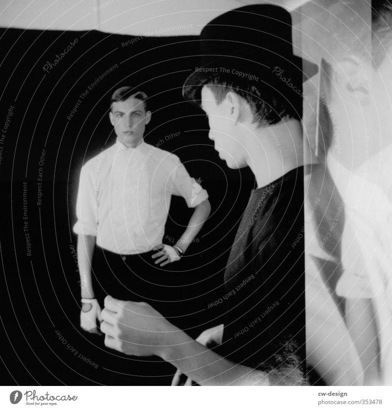 Friseur MU Berlin Mensch Mann Jugendliche schön Erwachsene Junger Mann 18-30 Jahre Leben Freundschaft maskulin Lifestyle stehen Show Jugendkultur Veranstaltung