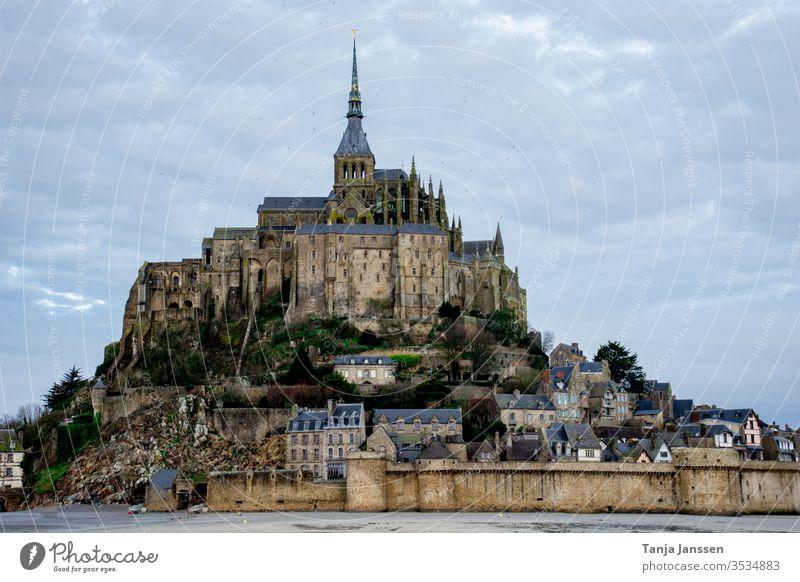 Le Mont-Saint-Michel Frankreich Urlaub Kloster Tourismus Normandie Religion Historisches Gebäude