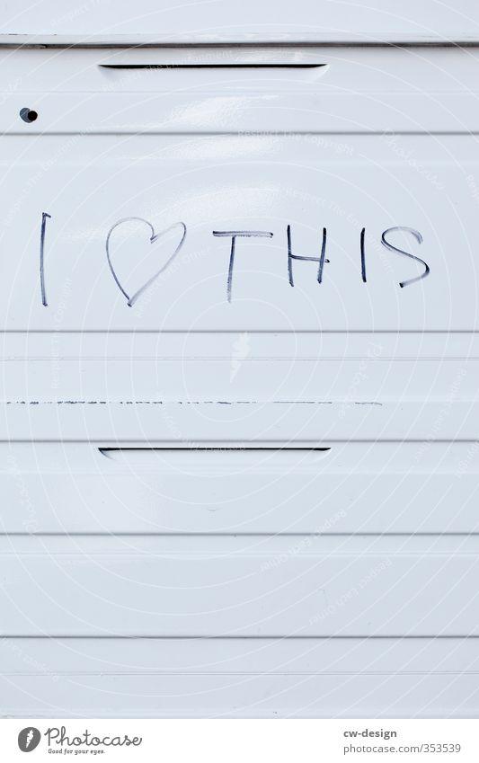 HEUTE: Internationaler Tag der Wohltätigkeit Kunst Zeichen Graffiti Herz Linie Liebe Glück trendy positiv Stadt schwarz weiß Gefühle Lebensfreude