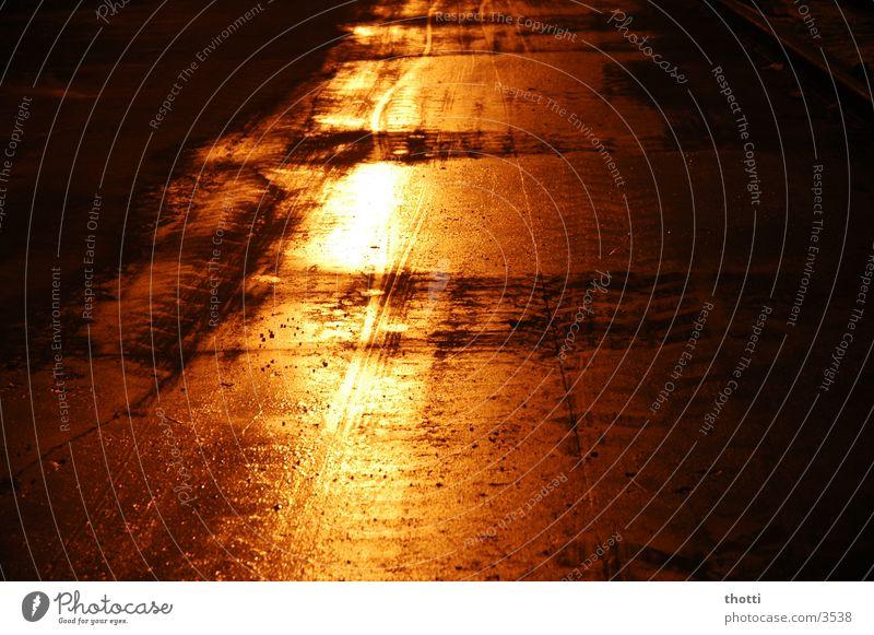 street@night Nacht Langzeitbelichtung Straße Beleuchtung
