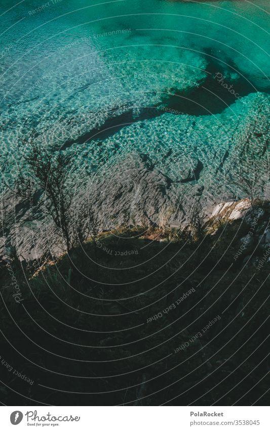 #AS# Blaue Quelle Neuseeland Neuseeland Landschaft Wasser Natur Farbfoto blau Tag Außenaufnahme Ferien & Urlaub & Reisen Menschenleer Schönes Wetter Abenteuer