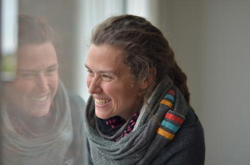 Rømø   Lebensfreude Mensch feminin Junge Frau Jugendliche Erwachsene Kopf Haare & Frisuren Gesicht Auge Ohr Nase Mund Lippen Zähne 1 30-45 Jahre Lächeln lachen