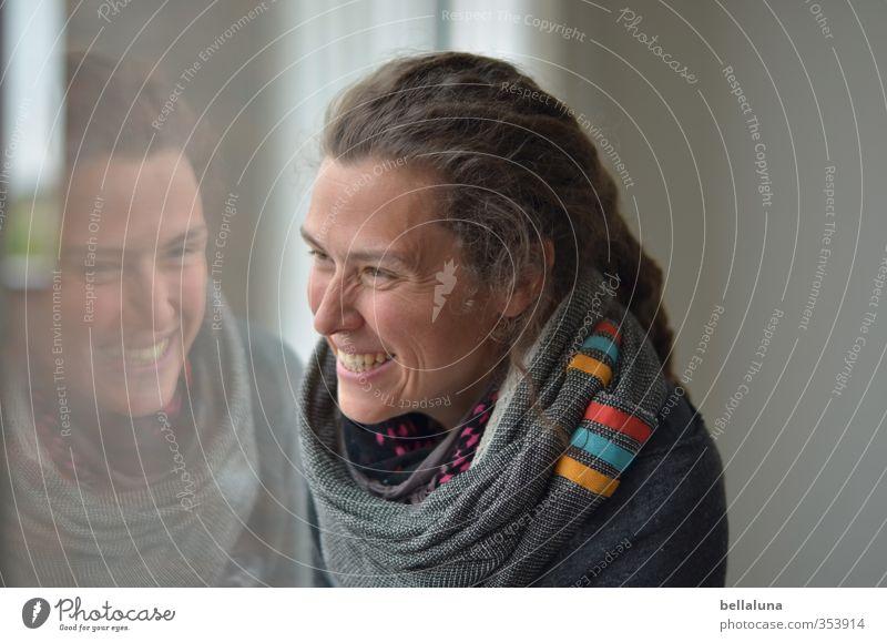 Rømø | Lebensfreude Mensch Frau Jugendliche Junge Frau Erwachsene Gesicht Auge feminin lachen Haare & Frisuren Glück Kopf leuchten Lächeln frisch