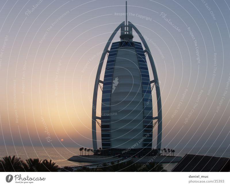 Dubai Sonnenuntergang Erfolg Vereinigte Arabische Emirate