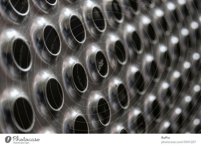 Gestanztes und gezogenes rostfreies Stahlblech. Waschmaschine Trommel Blech Blechtrommel Gitter Gitterblech Abdeckung stainless Maschine Schutzgitter