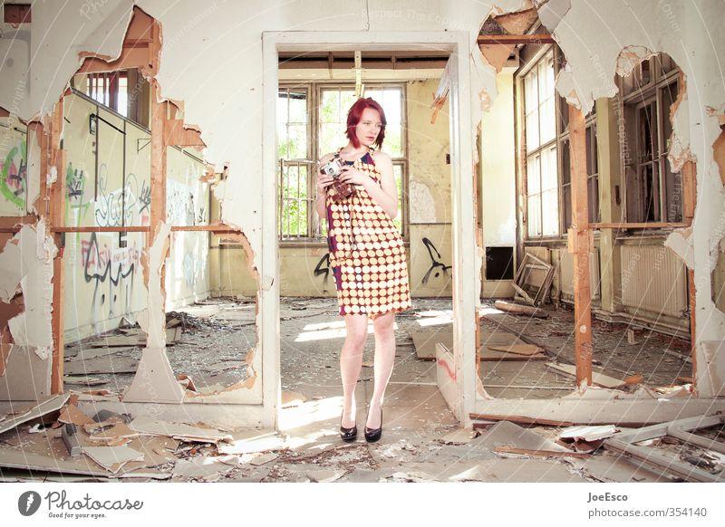 #354140 Stil Freizeit & Hobby Abenteuer Wohnung Renovieren Umzug (Wohnungswechsel) einrichten Raum Frau Erwachsene Leben Mensch 18-30 Jahre Jugendliche Mode