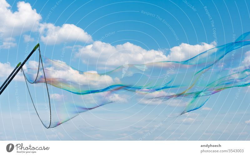 Und hier sind die großen Träume abstrakt Air aqua Hintergrund schön blau hell Schaumblase Kindheit Sauberkeit übersichtlich Cloud Wolken wolkig Farbe