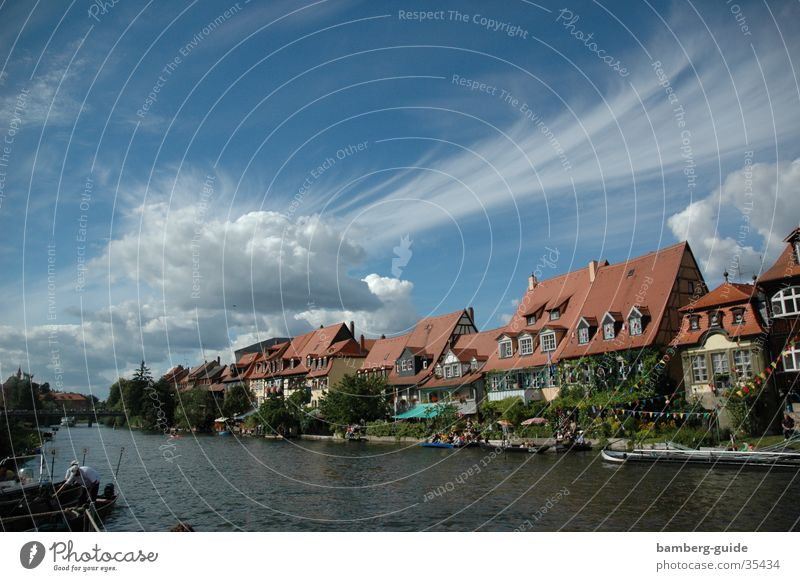 Bamberg - Klein Venedig klein Europa Oberfranken Franken Italien Bayern Weltkulturerbe