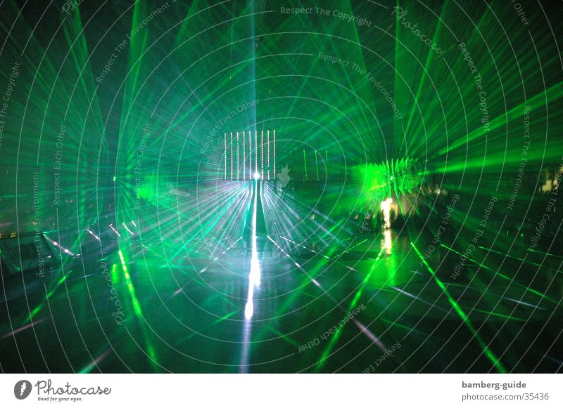 Lasershow Entertainment Basketball Lightshow