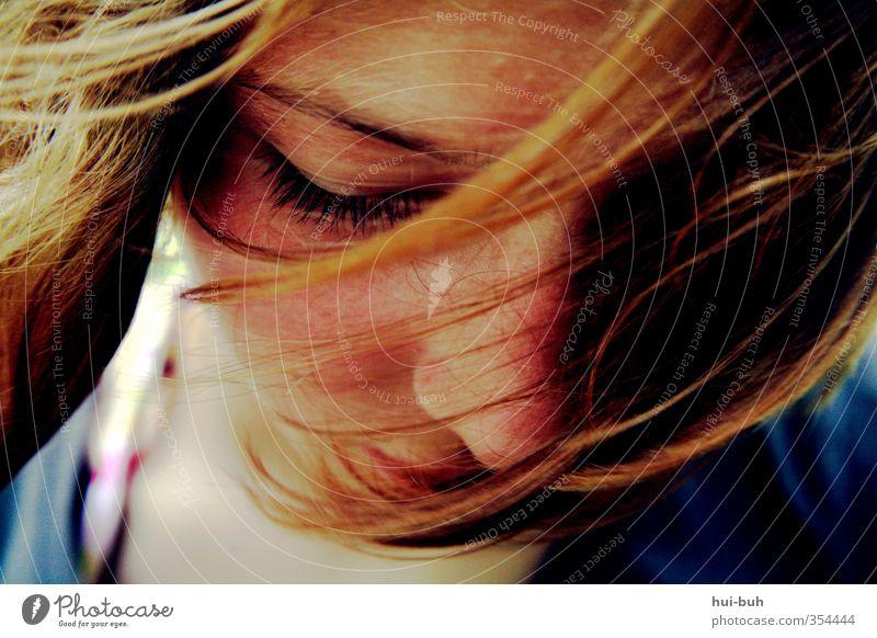 Rot ist das neue Pink Freude Haare & Frisuren Haut Freizeit & Hobby Ferne Freiheit Sommer Sommerurlaub Jugendliche Leben Auge 13-18 Jahre Kind Schönes Wetter