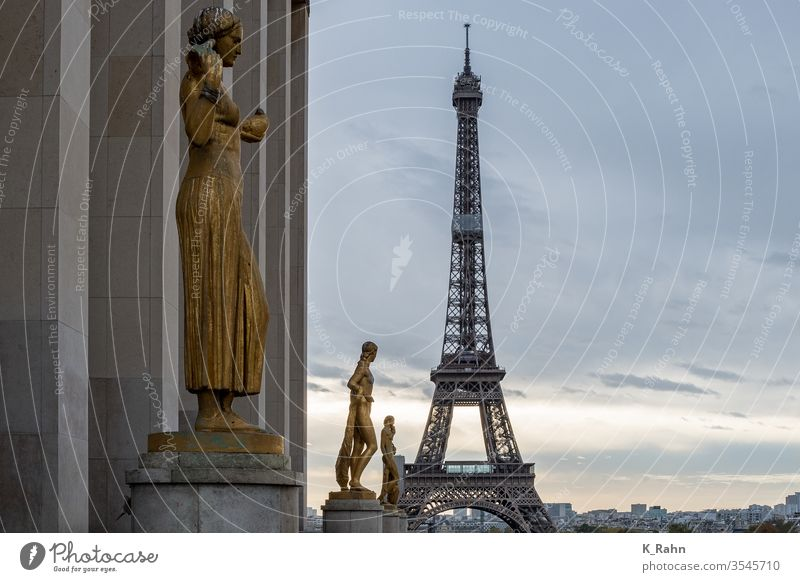 Paris Eifelturm paris eiffelturm frankreich wolkengebilde himmel haus straße idyllisch historisch gebäude tourismus gasse lane europa romantisch liebe beruhigt