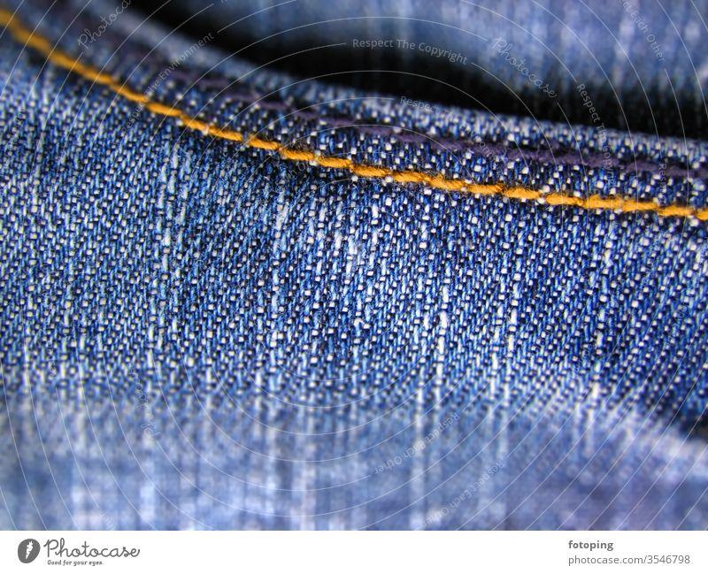 Denim Hintergrund Baumwolle cotton Jeans Hose Jeansstoff Kleidung Kult kultig verwaschen Stoff Textil Textilien blauer Vorlage blauer Hintergrund Gewebe