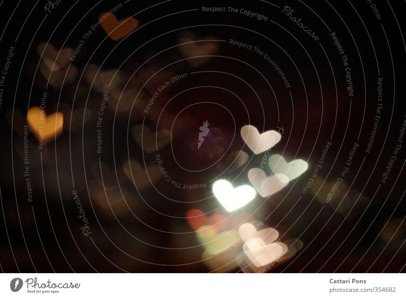 LOVEppears Design Nachtleben glänzend leuchten Freundlichkeit Warmherzigkeit Sympathie Liebe Verliebtheit Lichterscheinung Herz Muttertag Valentinstag Romantik