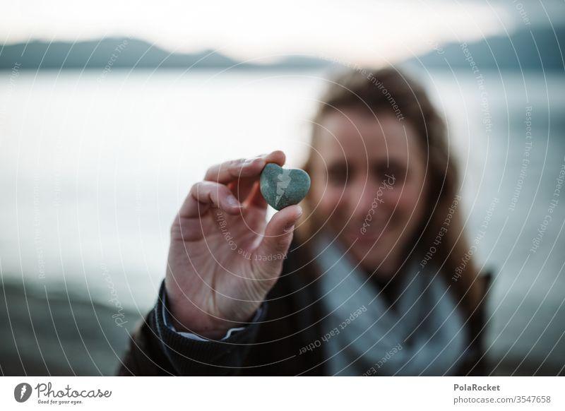 #As# Stein der Liebe Liebeserklärung Liebesbekundung Liebesgruß liebevoll Frau Form metapher Symbole & Metaphern Strand gefunden finden Beziehung