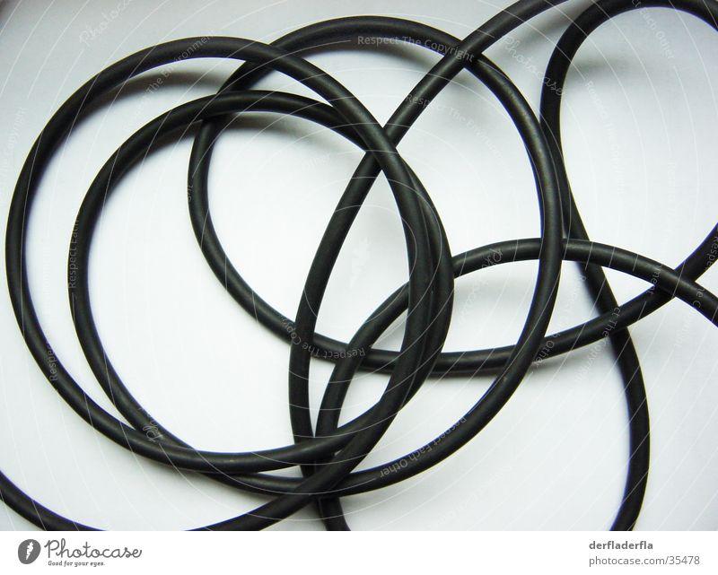 Kabel schwarz weiß Verstärker Freizeit & Hobby Musik Gitarre