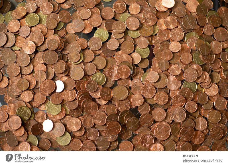 Ich hab's passend kleingeld Münzen Geld Geldmünzen Business Euro Bargeld Nahaufnahme Reichtum sparen Cent Erfolg kaufen