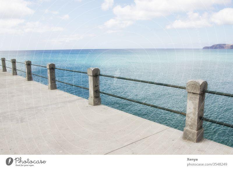 Porto Santo Meer Ferien & Urlaub & Reisen Küste Portugal Wasser blau Außenaufnahme Himmel Natur Menschenleer Farbfoto Landschaft Tag Atlantik Sommer Wolken