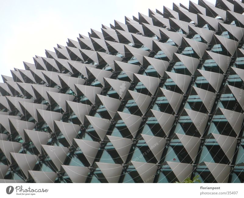 Singapore Concert Hall Architektur Fassade